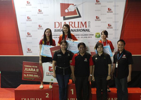 17 Kejurnas Djarum Sirnas 2013 di Manado Berlangsung Sepktakuler