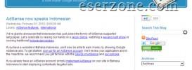 Google Adsense Support Blog Bahasa Indonesia 273x100 Google Adsense Resmi Support Bahasa Indonesia Dengan 3 Syarat Tambahan