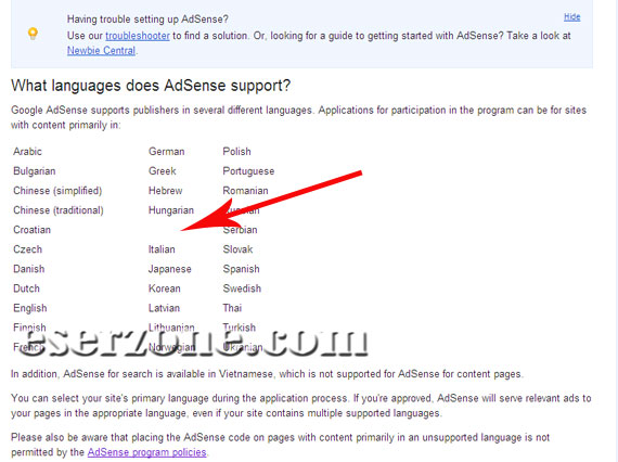 Google Adsense Support Web Bahasa Indonesia Google Adsense Support Web Bahasa Indonesia