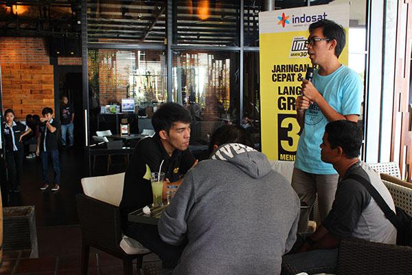 Komunitas Instagram Manado di Acara Indosat Jaringan Terbaru Indosat Tawarkan Kecepatan dan Kestabilan, Saya Justru Menantang Balik Mereka