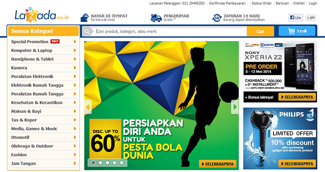 Lazada Affiliate Program Lazada Affiliate Program, Partner Bisnis Online Terpercaya