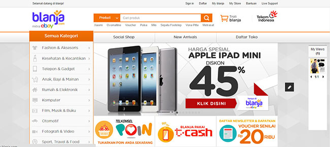 blanja.com  Tips Aman dan Hemat Belanja Online