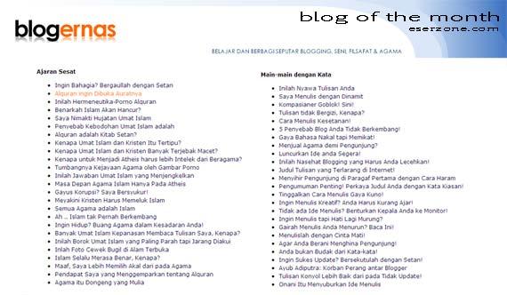 blog penyebar ajaran sesat Blogger Penyebar Ajaran Sesat