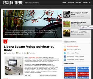 eplison theme 10 Template Wordpress Terbaik Gratis