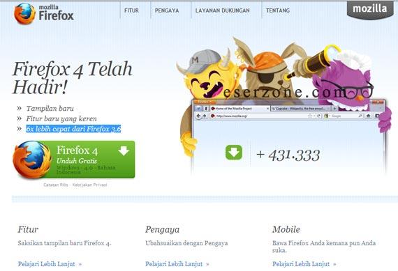 firefox 4 Selingkuh Dengan Mozilla Firefox 4