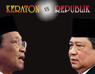 keraton vs pemerintah Antara Penetapan dan Pemilihan Langsung