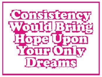 konsistensi Belajar Untuk Konsisten