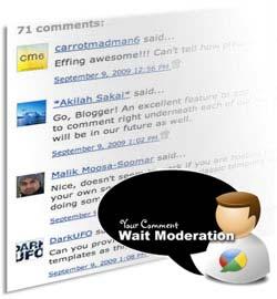 moderasi komentar Perlukah Moderasi Pada Komentar?