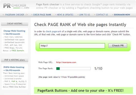 page rank 1 Page Rank Turun Pengunjung dan Pendapatan Adsense Meningkat