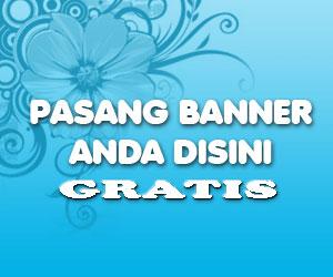 pasang banner gratis Hadiah Dari Blog Jadul