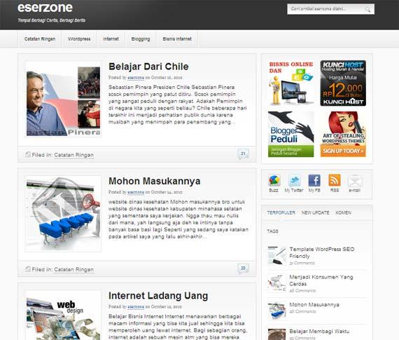 satu bulan blog eserzone Satu Bulan eserzone.com