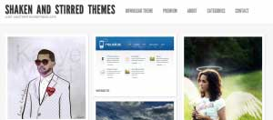 shaken grid theme 10 Template Wordpress Terbaik Gratis