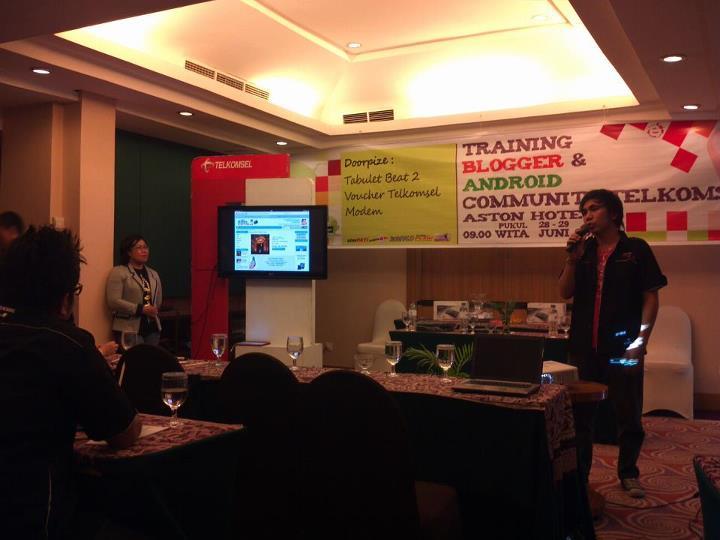 sharing blogging dengan kawanua blogger Senangnya Bisa Menyebarkan Virus Dengan Bantuan Telkomsel