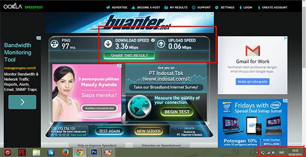 speedtest jaringan 3g U900 Indosat di Manado Jaringan Terbaru Indosat Tawarkan Kecepatan dan Kestabilan, Saya Justru Menantang Balik Mereka