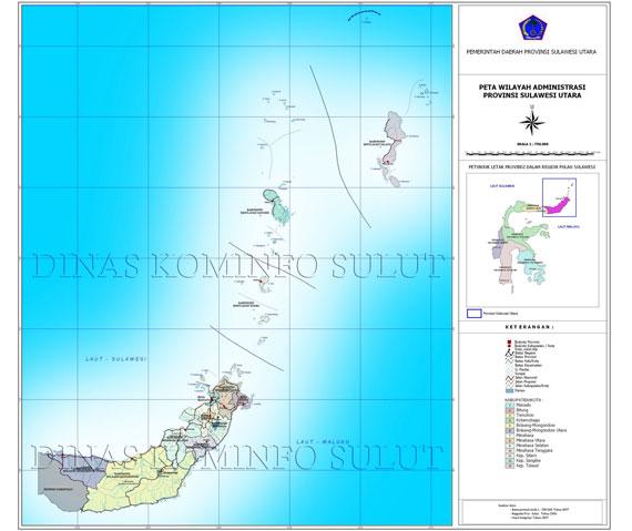 sulawesi utara Sulawesi Utara Dalam Angka, Sekilas Tentang Sulawesi Utara
