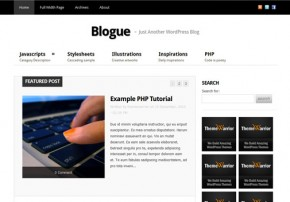template wordpress premium gratis blogue Download Template Wordpress Premium Gratis
