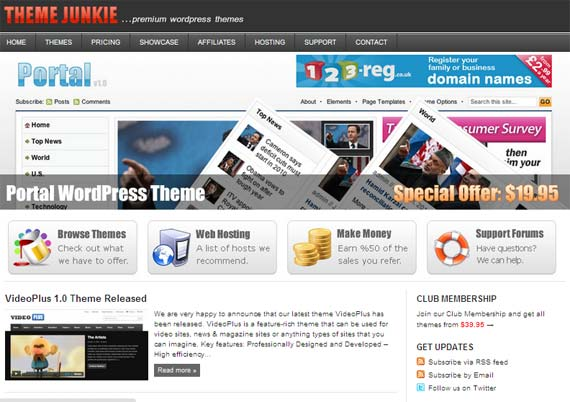 template wordpress theme junkie Gratis 23 Template Wordpress Dari Theme Junkie