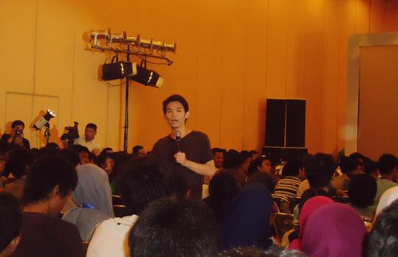 willis wee Hari Pertama Kopdar Blogger Nusantara