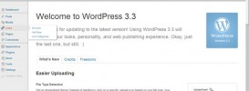 wordpress 3.3 273x100 Update Wordpress 3.3